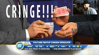 Messing up Magic on LIVE TV!