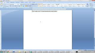 Top and Bottom Margins missing in word! Quick Fix!
