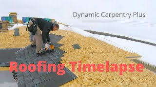 Asphalt Shingle Roof installation in 2 minutes!!!
