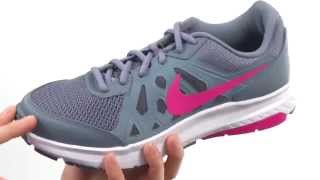 Nike Dart 11 Women's Running Shoe White/ Pink Power video