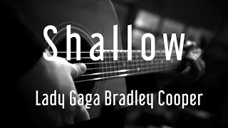 Shallow   Lady Gaga Bradley Cooper | A Star Is Born | ( Acoustic Karaoke )