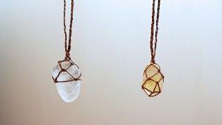DIY Crystal Wrapping