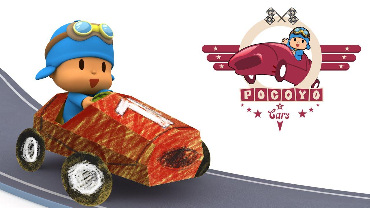 MANUALIDAD ✄✎ Pocoyo & Cars: ¡crea tus propios coches de carreras!