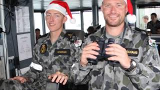 Tribute to Royal Australian Navy - Sailing Home For Christmas.wmv