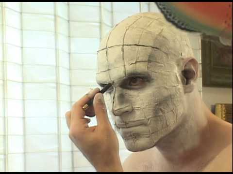 HOW TO DO PINHEAD MAKE UP -WITH SOUND