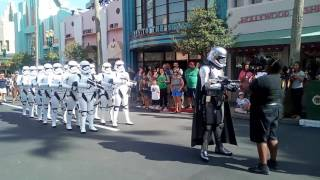 Really Cool Storm Trooper March At Disney Worlds Hollywood Studios