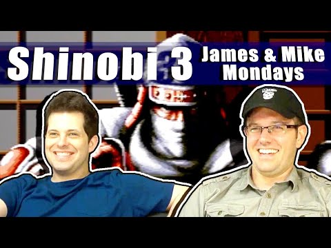 James and Mike play Shinobi 3. Is it the best Sega Genesis game?