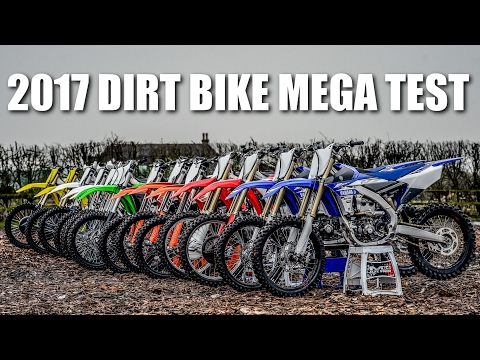 2017 DIRT BIKE MEGA TEST – Battle of the Bikes