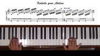 Les Fleurs Sauvages by Paul de Senneville Piano Tutorial - Most