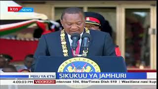 Rais Uhuru Kenyatta aongoza wakenya katika sherehe za sikukuu ya Jamhuri