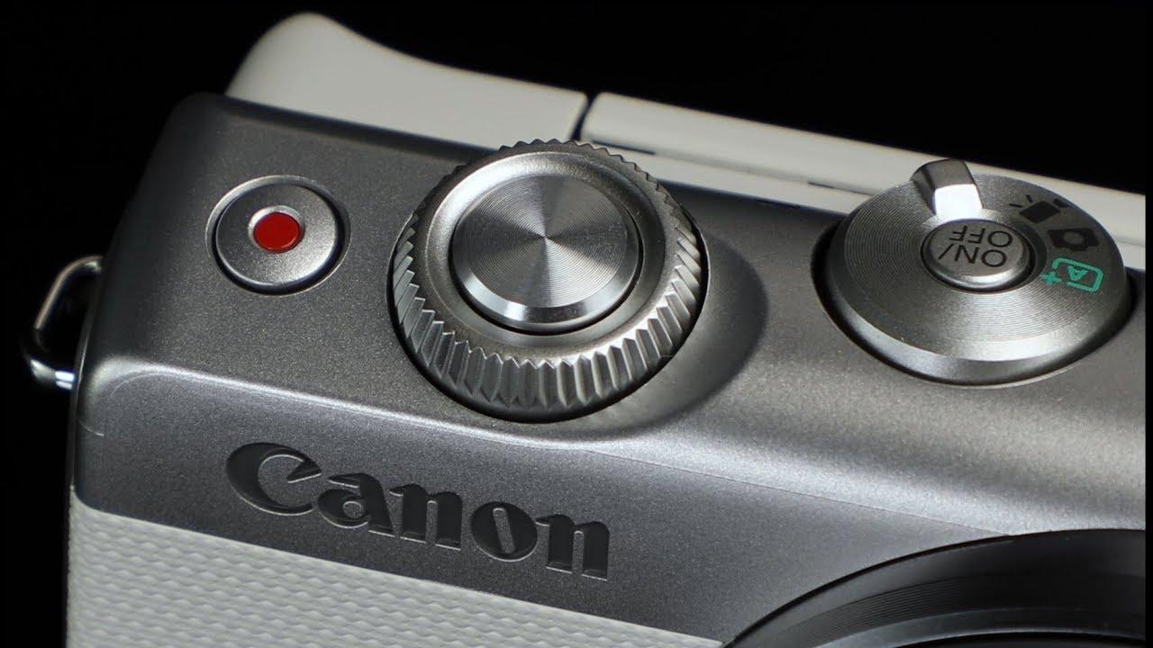 Canon EOS M100 spegillaus myndavél og EF-M 15-45mm f/3.5-6.3 IS linsa-Myndband