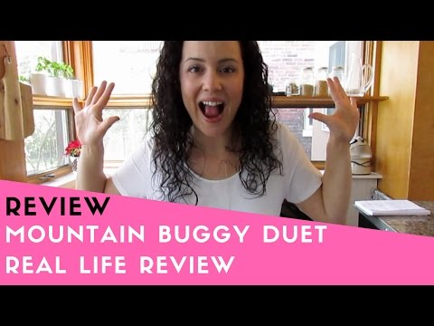 REVIEW! Mountain Buggy Duet Double Stroller Review