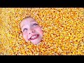 BURiED AT PUMPKIN CASTLE!! Adley Slide Reviews! A Halloween Tradition and Family Routine!
