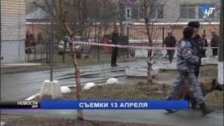 Сотрудники полиции задержали подозреваемого в ложном минировании жилого дома на улице Кооперативная