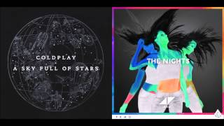 Coldplay vs Avicii - A Night Full Of Stars