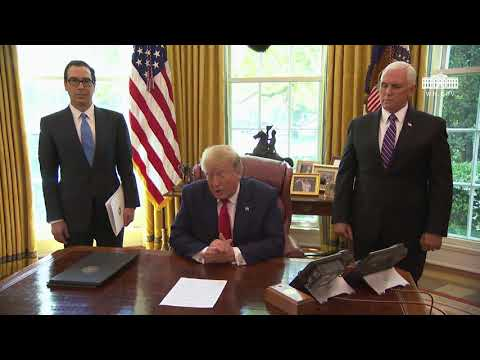President Trump Signs an Executive Order on Iranian Sanctions