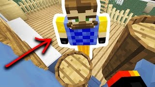 HE STOLE EVERYTHING! | CREEPY NEIGHBOR HIDE N' SEEK! - Minecraft Mods