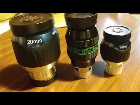 My eyepiece collection
