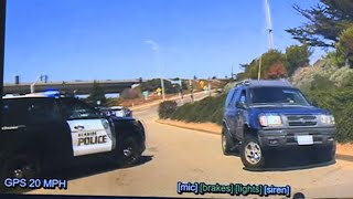 SEASIDE POLICE DASH CAM: Chase leads to officer-involved shooting