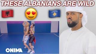 ARAB REACTION TO ALBANIAN MUSIC BY Tayna X Dafina Zeqiri   Bye Bye  **OMG**