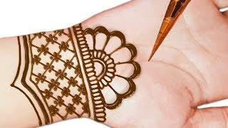 New Simple Mehndi Design - Easy Beautiful Mehndi Design For Front Hands - Henna Designs