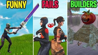 FUNNY vs FAILS vs BUILDERS! Fortnite Funny Moments 272 (Battle Royale)