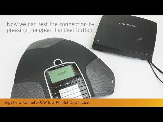 Konftel 300Wx Support - Firmware, setup and manuals - Konftel