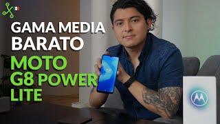 Moto G8 Power Lite, UNBOXING y PRIMERAS IMPRESIONES el gama media barato de Motorola