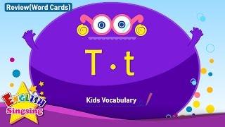 Kids từ vựng biên soạn - Words bắt đầu với T, t 2