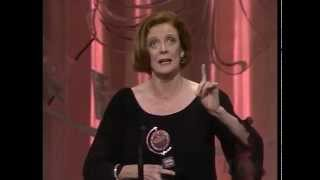 1990 Tony Awards - Maggie Smith - Best Actress in a Play