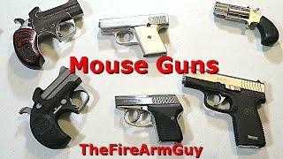 Great Backup Guns (Mouse Guns) - TheFireArmGuy