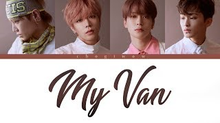 NCT 127   내 Van (My Van) (Color Coded Lyrics Han Rom Eng)