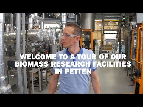 Biomass research facilities of TNO