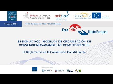 Modelos de organización de convenciones o asambleas constituyentes (sesión ad hoc)