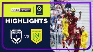 Bordeaux 1-1 Nantes Pekan 10