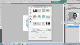 Как перенести печать, подпись и поставить на документ в Фотошопе (Photoshop)