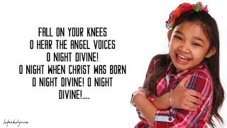 Angelica Hale - O Holy Night (Lyrics)