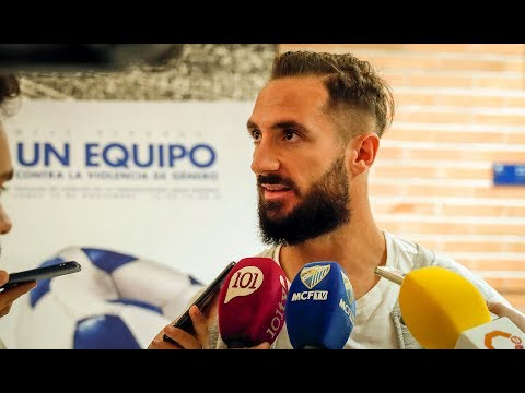 Cifu anima a que el Málaga siga en la misma línea como hasta ahora