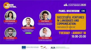 Successful Ventures in Language and Communication: From Words to Venture