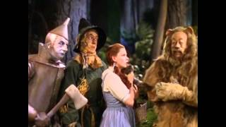 The wizard of oz....judy garland nearly starts laughing...