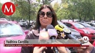 Yadhira Carrillo defiende a Juan Collado y pide su trasladado a Hospital