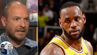LeBron James is going to distance himself from Lakers teammates - Ryen Russillo | Jalen & Jacoby