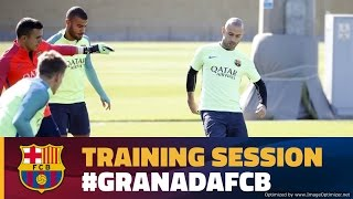 Barça continue laying groundwork for Granada clash