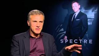 "Spectre: Christoph Waltz ""Franz Oberhauser"" Official Movie Interview"