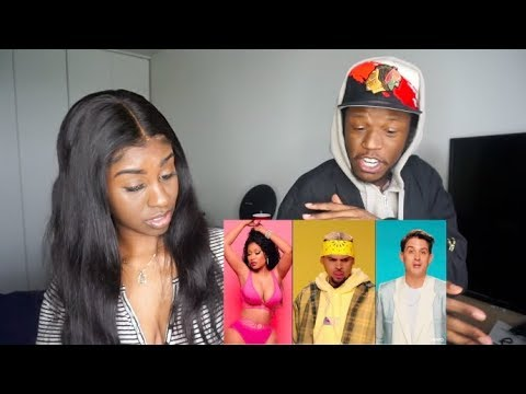 Chris Brown - Wobble Up (Official Video) Ft. Nicki Minaj, G-Eazy | Reaction!