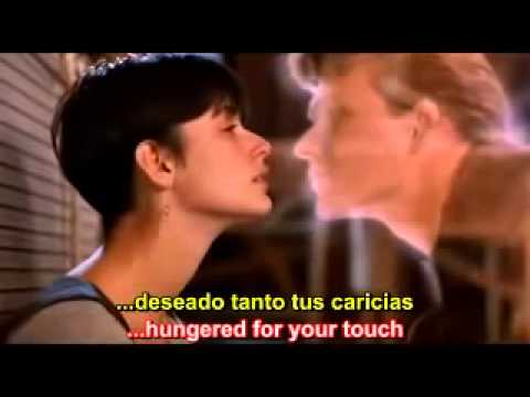 , title : 'Unchained Melody   Ghost   Righteous Brothers   Lyrics English   Subtitulos Español'