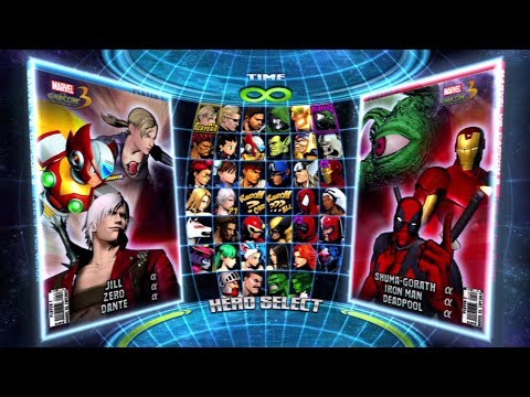 Marvel vs. Capcom 3: Fate of Two Worlds All Characters (Including DLC) [PS3]