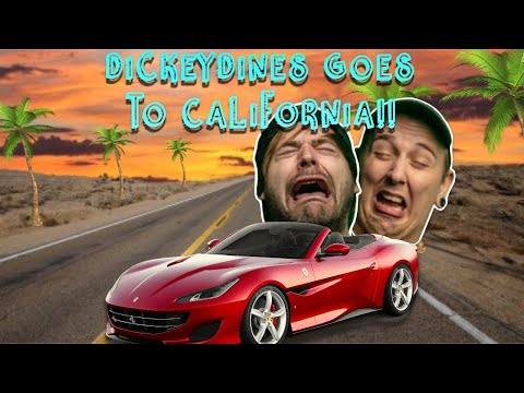 DickeyDines Goes To California!!!