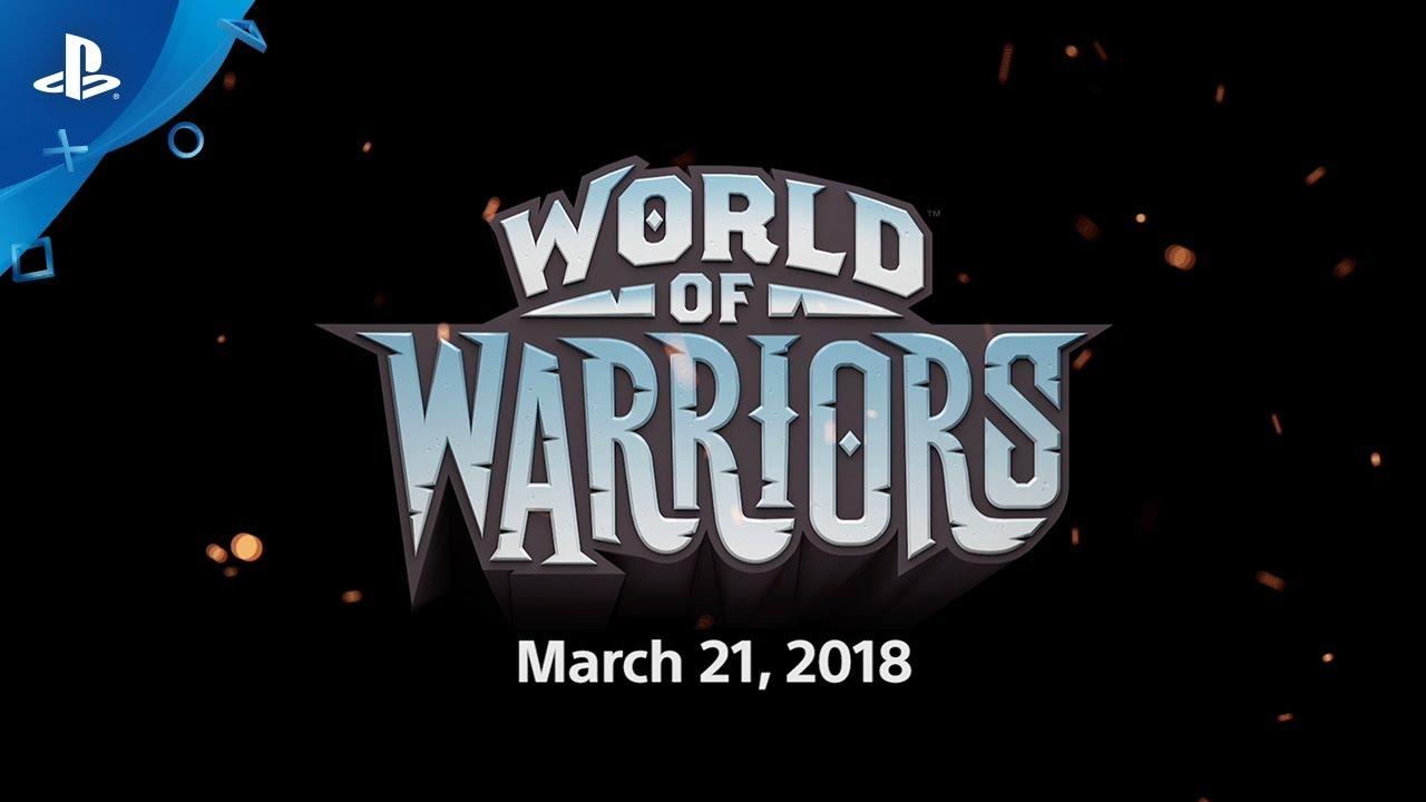 World of Warriors Chega ao PS4 em 21 de Março