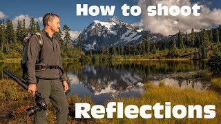 How do you photograph reflections and fall colors?